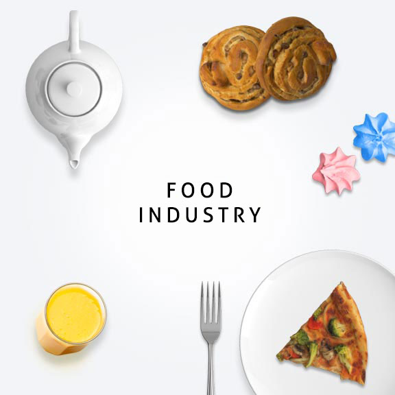 Food industry - digital marketing services by Blueprinted Marketing