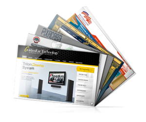 Web pages design services by Blueprinted Marketing