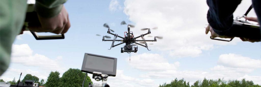 Aerial video services by Blueprinted Marketing